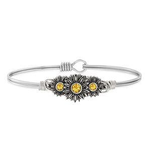 Luca + Danni Sunflowers Bangle Bracelet: BRAND NEW